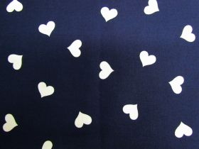 Great value Sweet Heart Cotton- Navy #PW1249 available to order online Australia