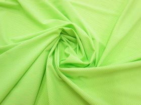 Great value Thin Stripe Lightweight Spandex- Sour Apple #3057 available to order online Australia