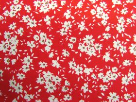 Great value Fields Of Daisies Cotton- Red #PW1252 available to order online Australia