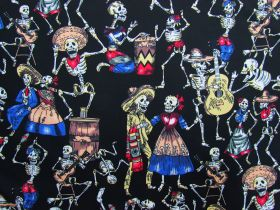 Great value Day Of The Dead Cotton #PW1224 available to order online Australia