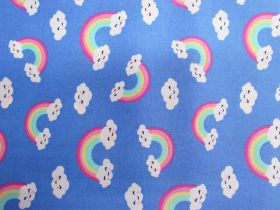 Great value Happy Rainbow Cotton- Blue #PW1201 available to order online Australia
