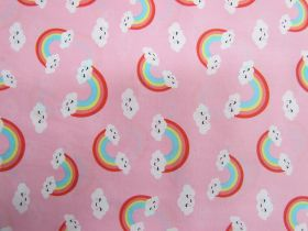 Great value Happy Rainbow Cotton- Pink #PW1205 available to order online Australia