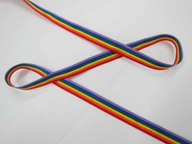 Great value Rainbow Ribbon- 15mm available to order online Australia