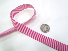 Great value Candy 15mm- Fuchsia / White available to order online Australia