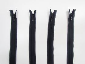 Great value 25cm Invisible Zip Bundle- 4 for $5- Navy TRW30 available to order online Australia
