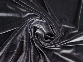 Great value 2 Way Stretch Velvet- Slate #4996 available to order online Australia
