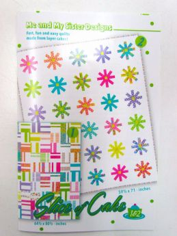 Great value A Slice Of Cake Quilt Pattern by Me and My Sister available to order online Australia