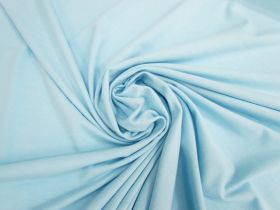 Great value Cotton Blend Spandex- Tranquil Blue #5008 available to order online Australia