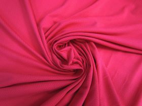 Great value Sports Eyelet Spandex Jersey- Brilliant Pink #5020 available to order online Australia