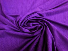 Great value Sports Eyelet Spandex Jersey- Vibrant Purple #5022 available to order online Australia