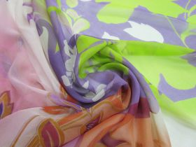 Great value 150cm Daydreamy Silk Georgette Panel #5029 available to order online Australia