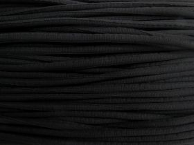 Great value 8mm Chunky Covered Cord- Black #486 available to order online Australia