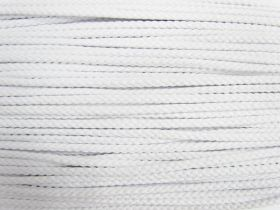 Great value 5.5mm Cotton Cord- White #493 available to order online Australia