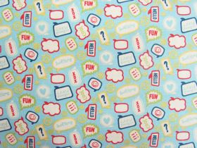 Great value Little Flyers Cotton- Blue #3140 available to order online Australia