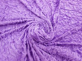Great value Lightweight Crinkled Spandex- Purple Fizz #3151 available to order online Australia
