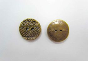 Great value Large Aztec Old Gold Couture Buttons- CB201 available to order online Australia