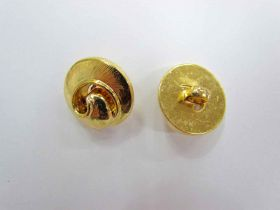 Great value Gold Swirl Couture Buttons- CB208 available to order online Australia