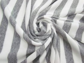 Great value Striped Fleece- Light Grey #5065 available to order online Australia