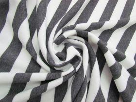 Great value Striped Fleece- Dark Grey #5066 available to order online Australia