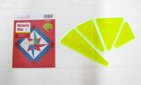 Great value Victoria Star Patchwork Template Set available to order online Australia