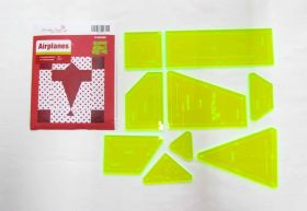 Great value Airplanes Patchwork Template Set available to order online Australia