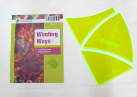 Great value Winding Ways Patchwork Template Set available to order online Australia