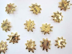 Great value Chunky Gold Star Splatter - Couture Buttons- CB199 available to order online Australia