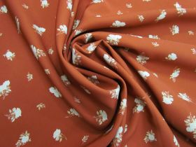 Great value Afternoon Tea Rose Polyester- Rust #5081 available to order online Australia