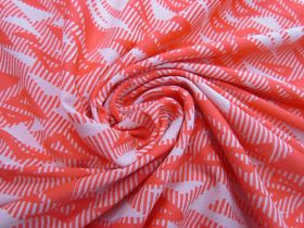 Great value Jazzy Triangles Jersey- Coral #5093 available to order online Australia