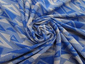Great value Jazzy Triangles Jersey- Royal Blue #5095 available to order online Australia