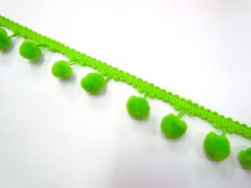 Great value Large Pom Poms- Lime available to order online Australia