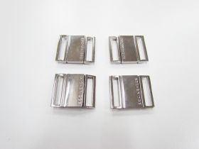 Great value Designer Bikini Clasps- Silver RW258- 4 for $2 available to order online Australia