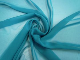 Great value Chiffon- Teal available to order online Australia
