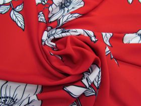 Great value Blossom Crepe - Red #5111 available to order online Australia