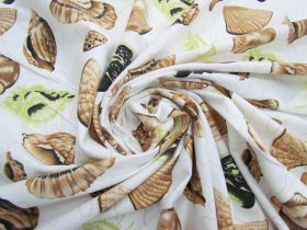 Great value *Seconds* Seashell Cotton Jersey- Green #5115- Reduced from $14.95m available to order online Australia