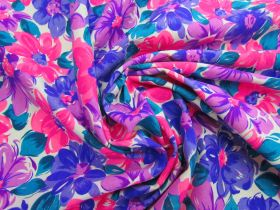 Great value Dizzy Daisy Cotton Jersey- Purple / Pink #5120 available to order online Australia