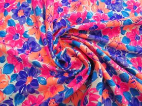 Great value Dizzy Daisy Cotton Jersey- Orange / Pink #5121 available to order online Australia