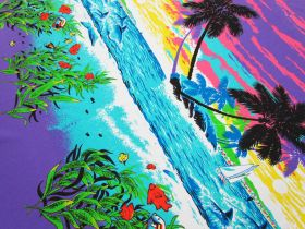 Great value 92cm Panel - Paradise Cotton Jersey #5124 available to order online Australia