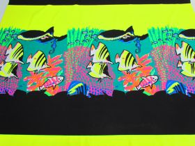 Great value 90cm Panel- Tropical Reef Cotton Jersey #5126 available to order online Australia