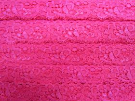 Great value 30mm Stretch Lace Trim- Cupid Pink #351 available to order online Australia