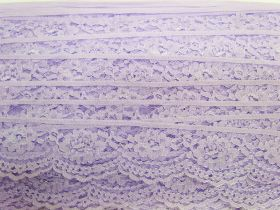Great value 40mm Lace Trim- Candy Violet #363 available to order online Australia