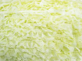 Great value 27mm Ariana Lace Frill Trim- Yellow #372 available to order online Australia