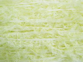 Great value 20mm Frill Lace Trim- Sweet Lemon #381 available to order online Australia