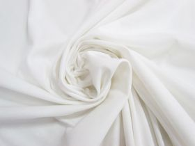 Great value Soft Interlock Jersey- Cosy White #5168 available to order online Australia