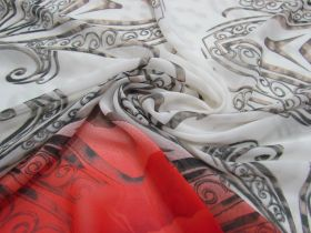 Great value Steel & Roses Chiffon #1382 available to order online Australia