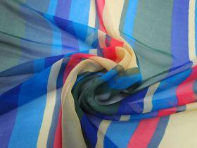 Great value Exuberant Stripe Silk Chiffon #3396 available to order online Australia