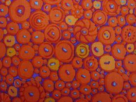 Great value Kaffe Fassett Button Mosaic- Orange available to order online Australia