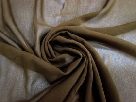 Great value Silk Blend Georgette- Earth Brown #3421 available to order online Australia