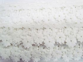 Great value Daisy Joy Lace Trim- Cream White #3434 available to order online Australia