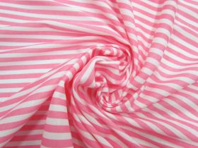 Great value Soft Interlock Jersey- Rosy Stripe #5192 available to order online Australia
